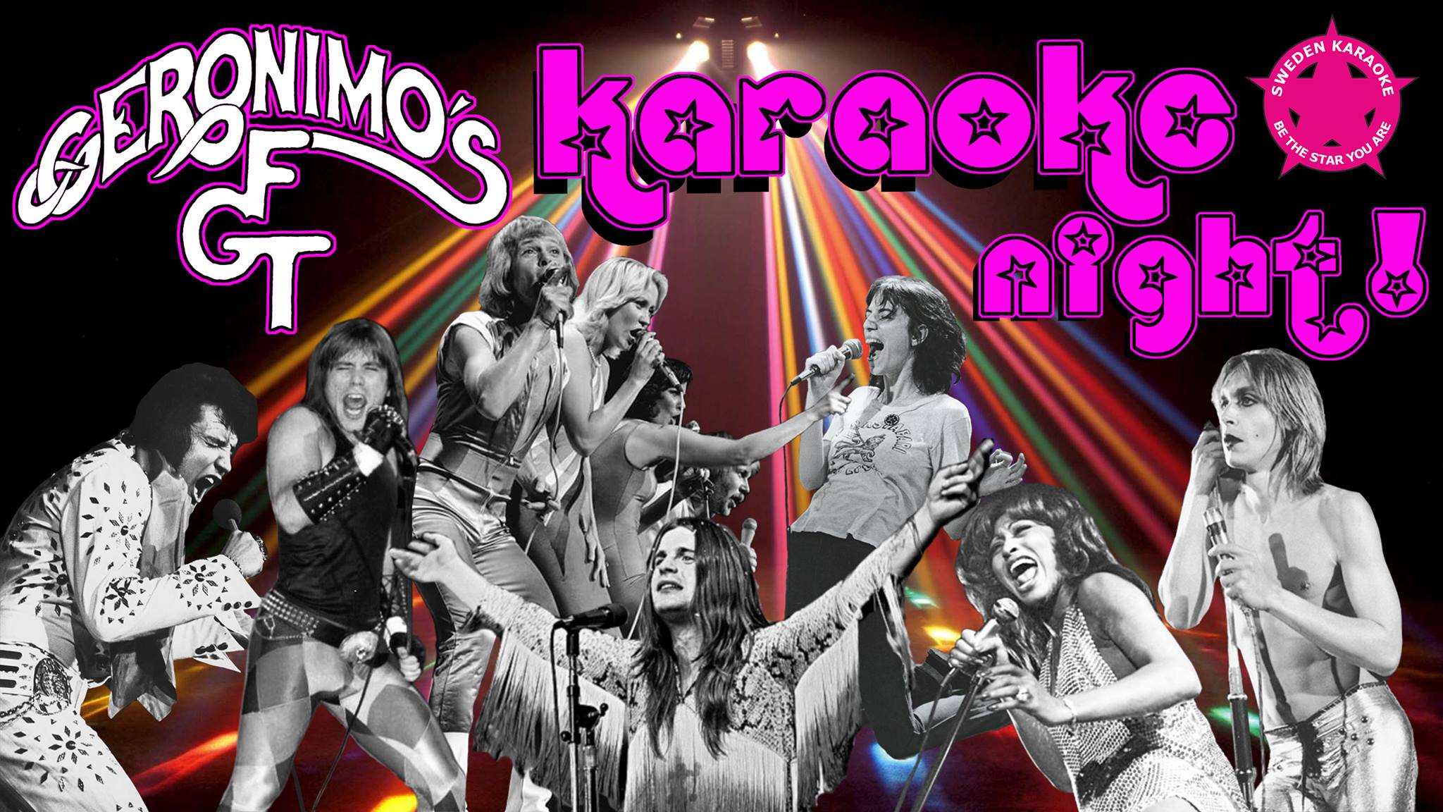 Geronimo's FGT Karaoke Night
